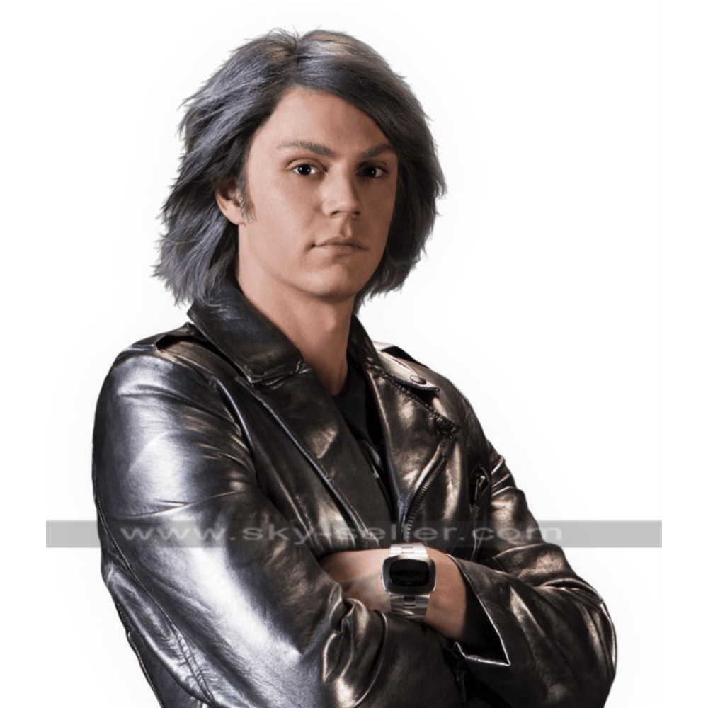 Quicksilver X-Men Days of Future Past Leather Jacket
