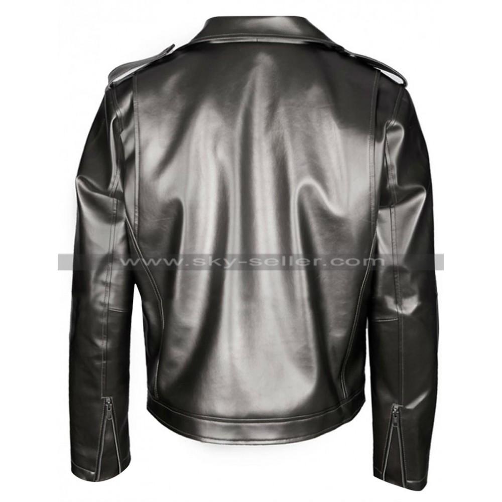 quicksilver xmen days of future past leather jacket