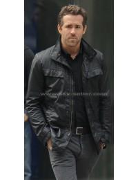 R.I.P.D Sheriff Nick Walker (Ryan Reynolds) Black Leather Jacket