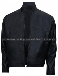 Ninja Assassin Raizo (Rain) Black Leather Jacket