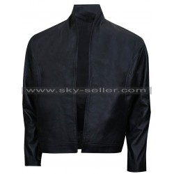Ninja Assassin Raizo (Rain) Black Leather Jacket