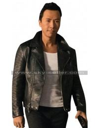 Return of Xander Cage Xiang Black Leather Jacket