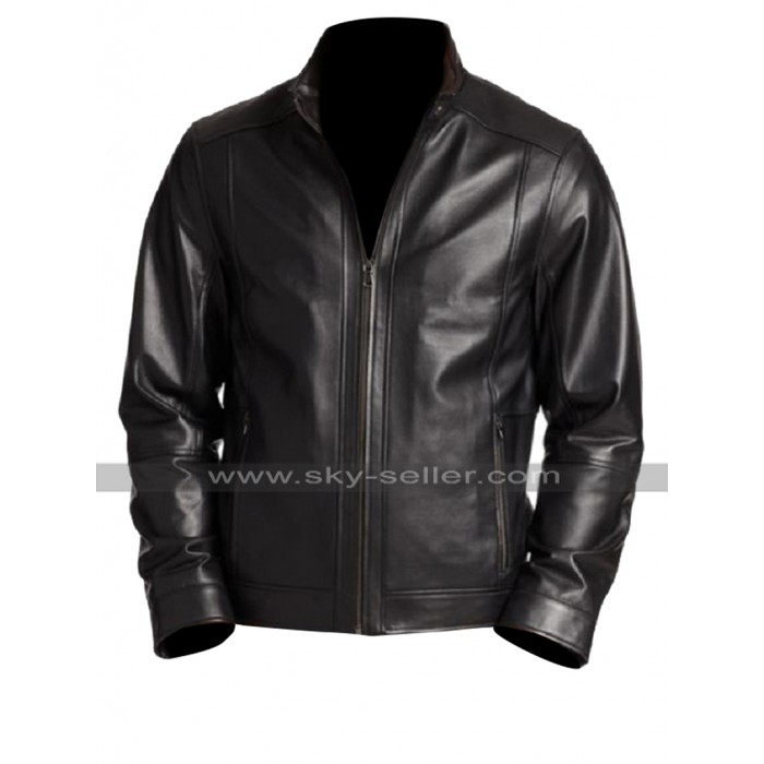 Suicide Squad Rick Flag (Joel Kinnaman) Black Leather Jacket