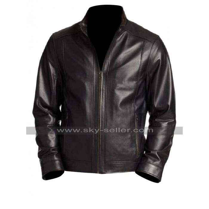 Suicide Squad Rick Flag (Joel Kinnaman) Black Leather Jacket