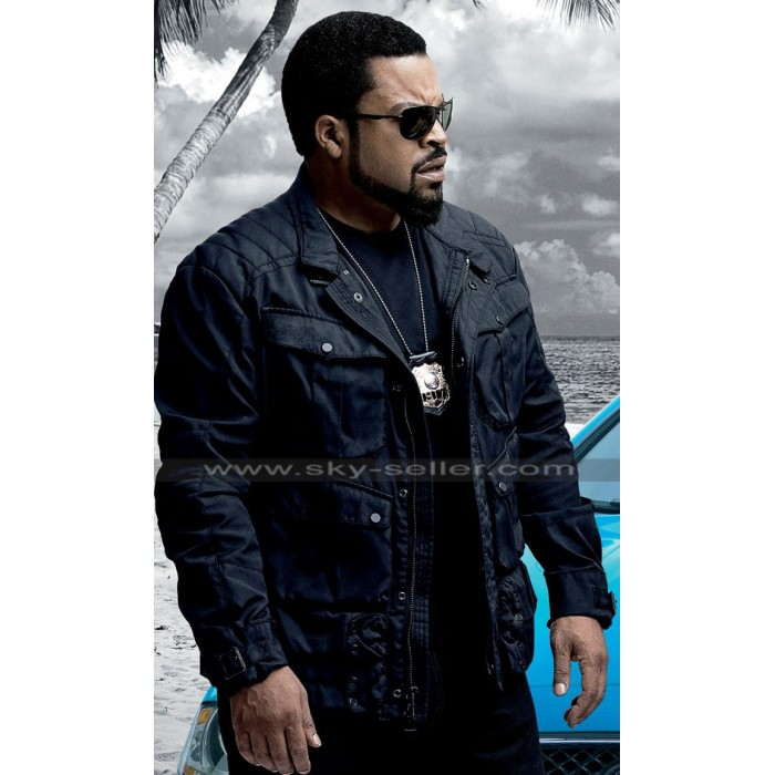 Ride Along 2 Ice Cube Black Leather Jacket