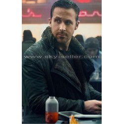 Blade Runner 2049 Ryan Gosling Fur Leather Coat