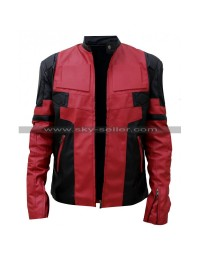 Deadpool 2 Ryan Reynolds (Wade Wilson) Leather Costume Red / Pink Color