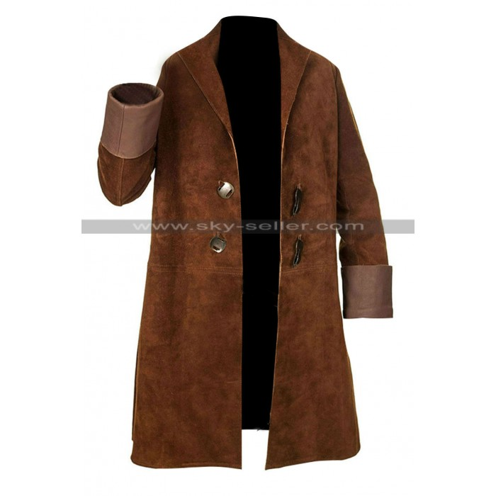 Serenity Malcolm Reynolds Costume Brown Coat