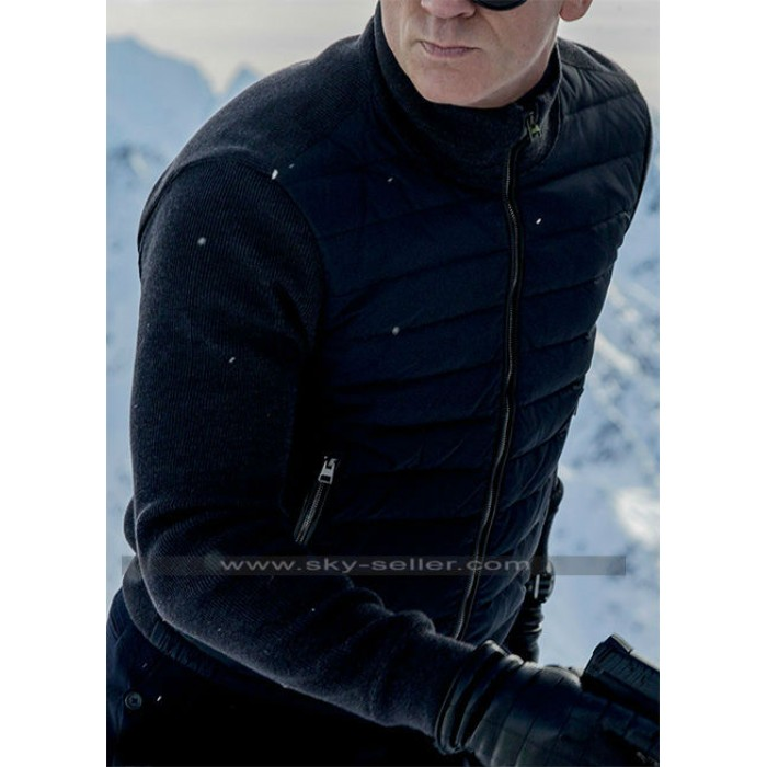 Spectre 007 Daniel Craig (James Bond) Black Jacket