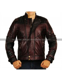 Avengers Infinity War Star Lord (Chris Pratt) Leather Costume Jacket