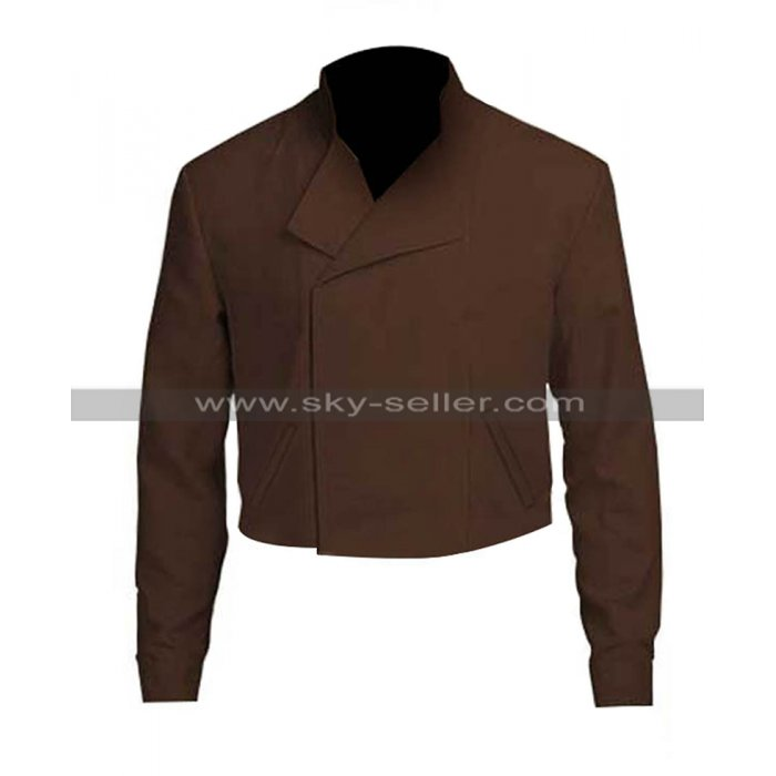 Star Wars The Rise of Skywalker John Boyega Finn Cottn Brown Jacket