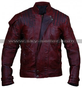 Guardians of the Galaxy 2 Starlord Never Seen Before Distressed Jacket