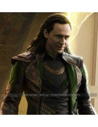 Thor Dark World Loki (Tom Hiddleston) Costume Jacket