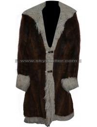 Xander Cage XXX 3 Vin Diesel Brown Fur Coat