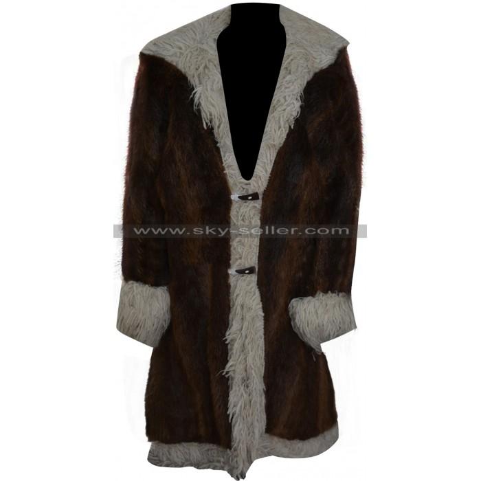 Xander Cage XXX 3 Vin Diesel Brown Fur Coat