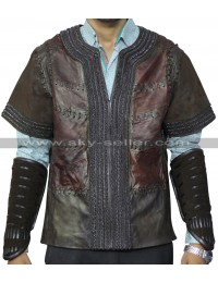 Warcraft Travis Fimmel (Anduin Lothar) Leather Jacket