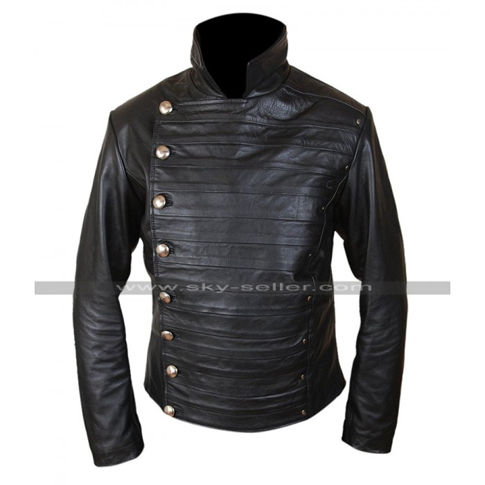 Westworld Hector Escaton (Rodrigo Santoro) Black Leather Jacket