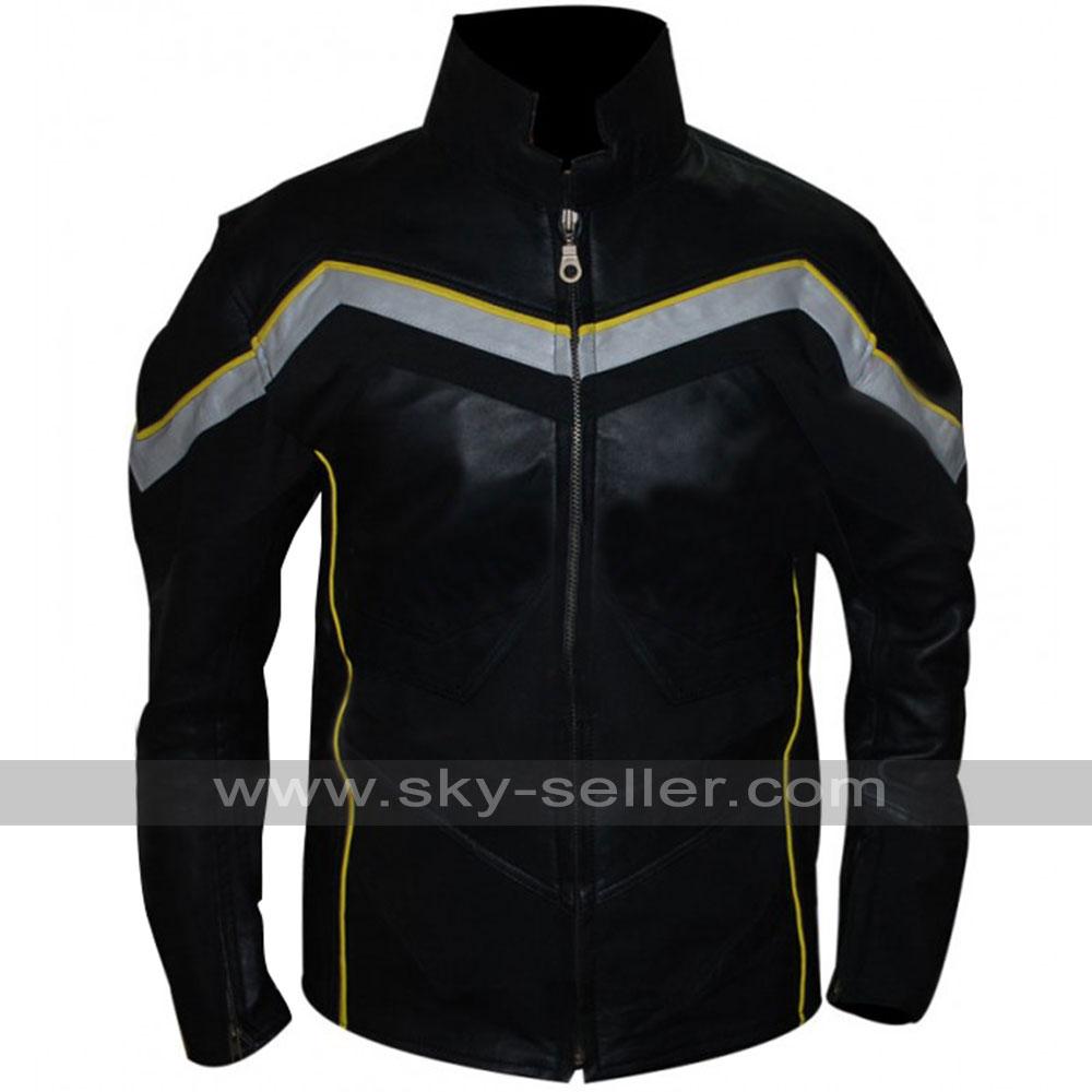 Hancock Will Smith Movie Leather Jacket / Costume