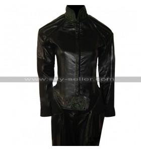 Marvel Comics X-Men (Anna Marie) Rogue Black Leather Jacket