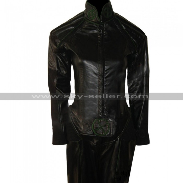 Marvel Comics X-Men (Anna Marie) Rogue Black Leather Jacket