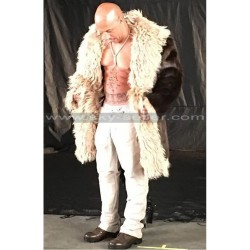 xXx Return of Xander Cage Vin Diesel Fur Coat