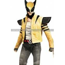 Wolverine X-Men Origins 2 Costume Leather Jacket