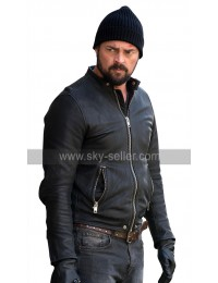 Bent Movie Karl Urban Danny Gallagher Black Leather Jacket