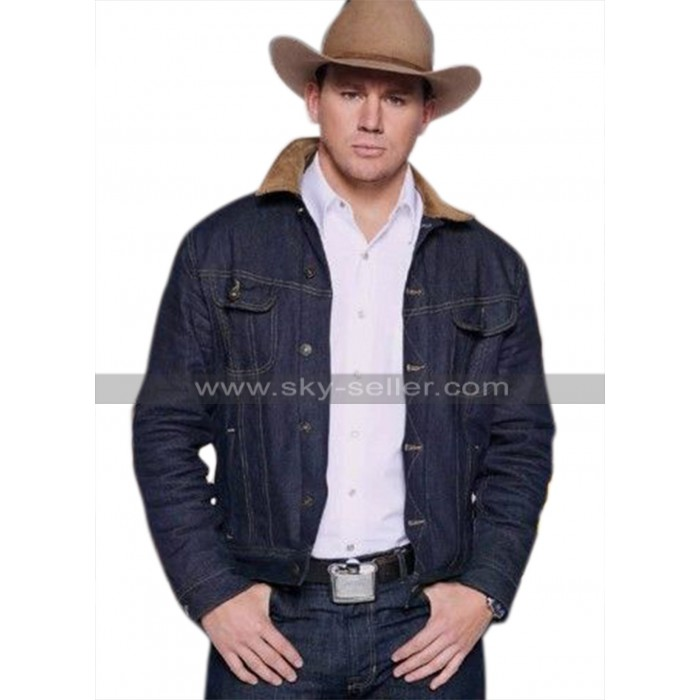 Kingsman The Golden Circle Channing Tatum (Tequila) Denim Jacket