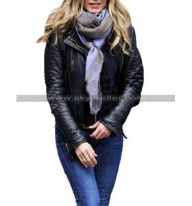 Wanderlust Jennifer Aniston Black Leather Jacket