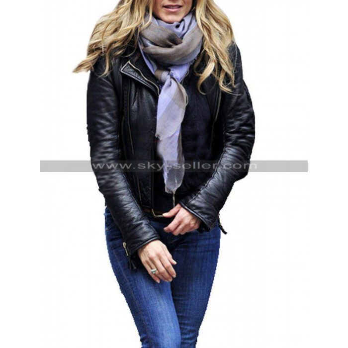Wanderlust Jennifer Aniston Black Leather Jacket