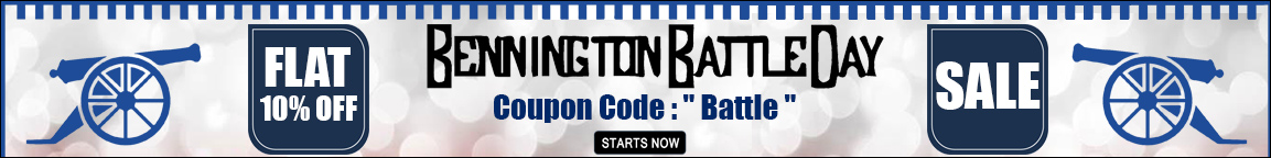 Bennington Battle Day Discount