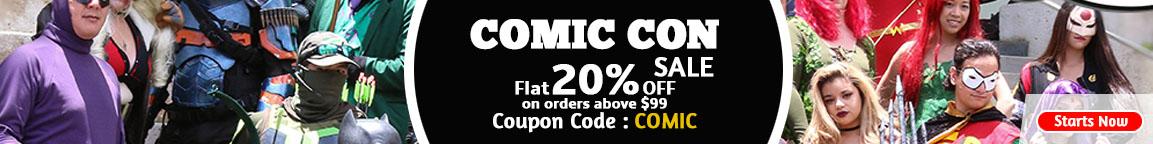 Comic Con Discount