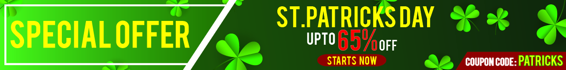 ST. PATRICKS SALE