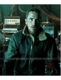 John Connor Terminator Salvation Alpha Vintage B3 Sheepskin Jacket