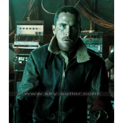 John Connor Terminator Salvation Alpha Vintage B3 Sheepskin Jacket