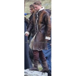 Knights of the Roundtable King Arthur (Charlie Hunnam) Fur Coat