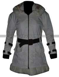 Sherry Birkin Resident Evil 6 Fur Leather Coat