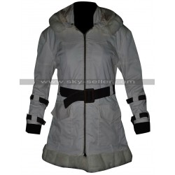 Sherry Birkin Resident Evil 6 Fur Leather Coat