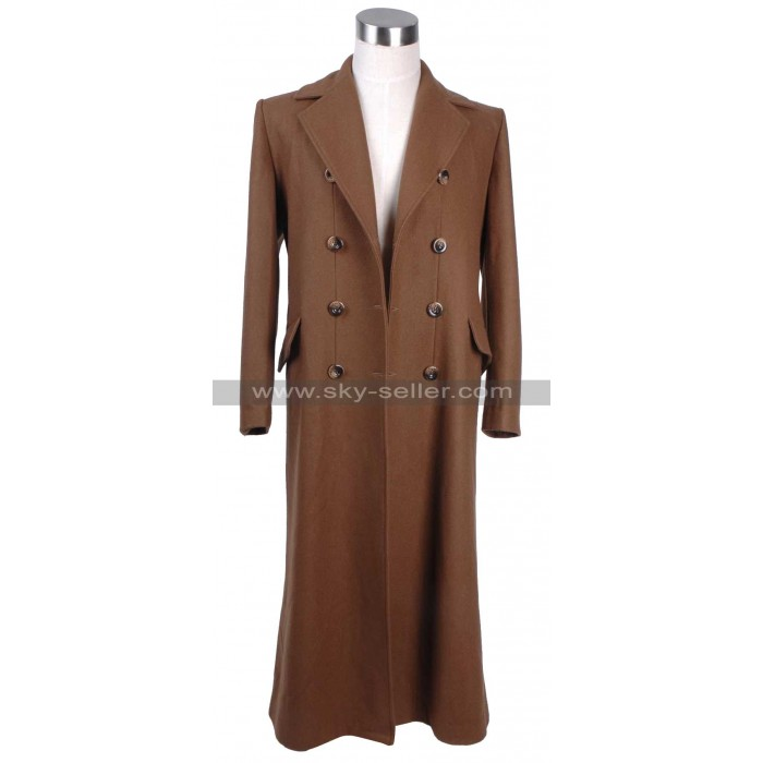 Doctor David Tennant Trench Tenth Doctor Who Coat