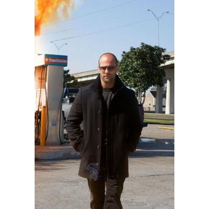 The Mechanic Jason Statham (Arthur Bishop) Pea Coat