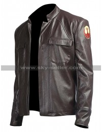 Star Wars The Last Jedi Poe Dameron Leather Jacket