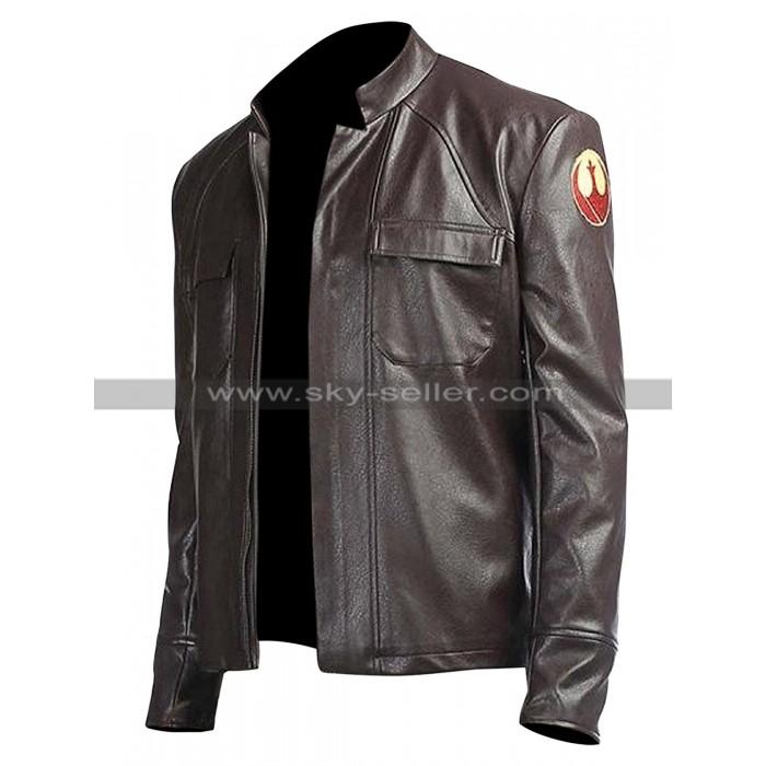 Star Wars The Last Jedi Poe Dameron Leather Jacket