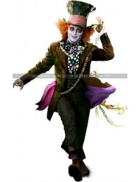 Alice in Wonderland Mad Hatter (Johnny Depp) Costume Coat