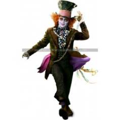 Alice in Wonderland Mad Hatter (Johnny Depp) Costume Coat