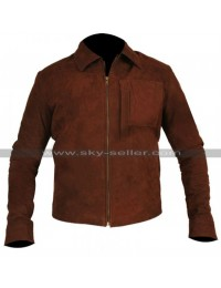 Jack Harper Oblivion Tom Cruise Suede Leather Jacket