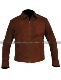 Jack Harper Oblivion Tom Cruise Suede Leather Jacket