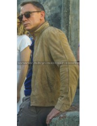 Spectre Daniel Craig Blousan Suede Jacket