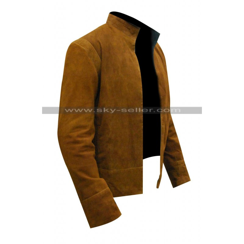 Morgan Merlin Brown Suede Leather Jacket