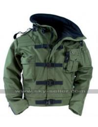 MythBusters Adam Savage Green Military Jacket