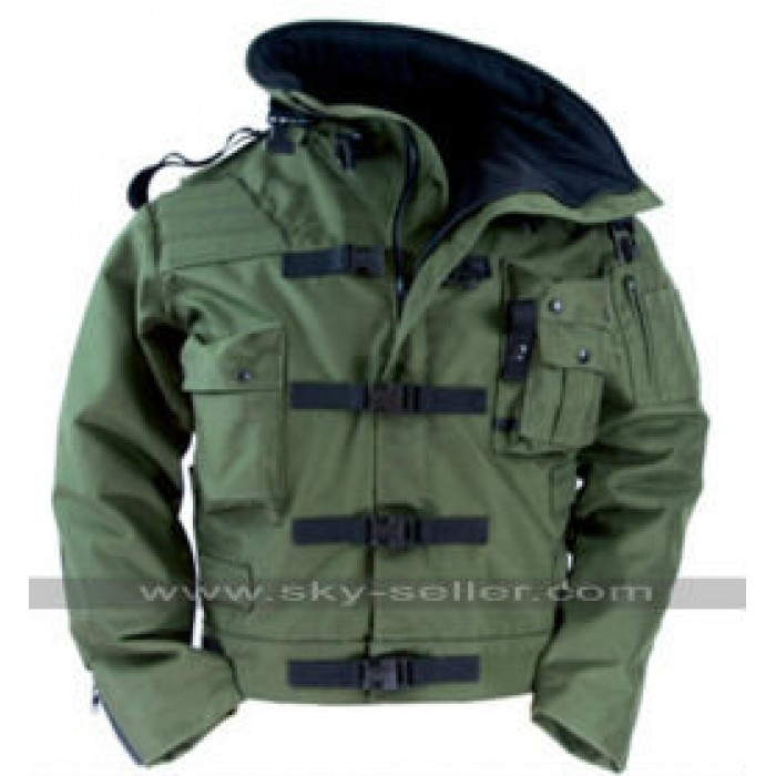 MythBusters Adam Savage Green Military Jacket